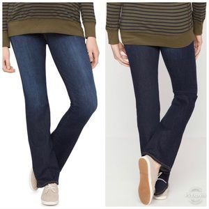 7 For All Mankind Maternity Bootcut Jeans Denim S